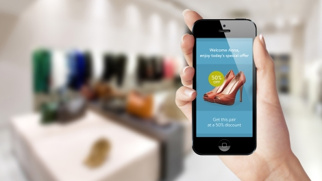 iBeacon can give you coupons based on where you are exactly in a store
